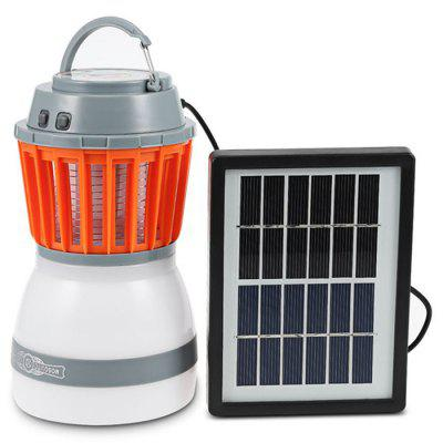 Waterproof Solar USB Rechargeable Mosquito Repellent