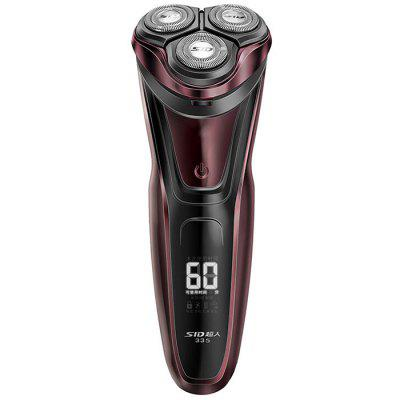 SID RS335 Rechargeable Three Head Floating Electric Shaver