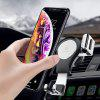 FLOVEME Gravity Outlet Car Phone Holder - ARGINT