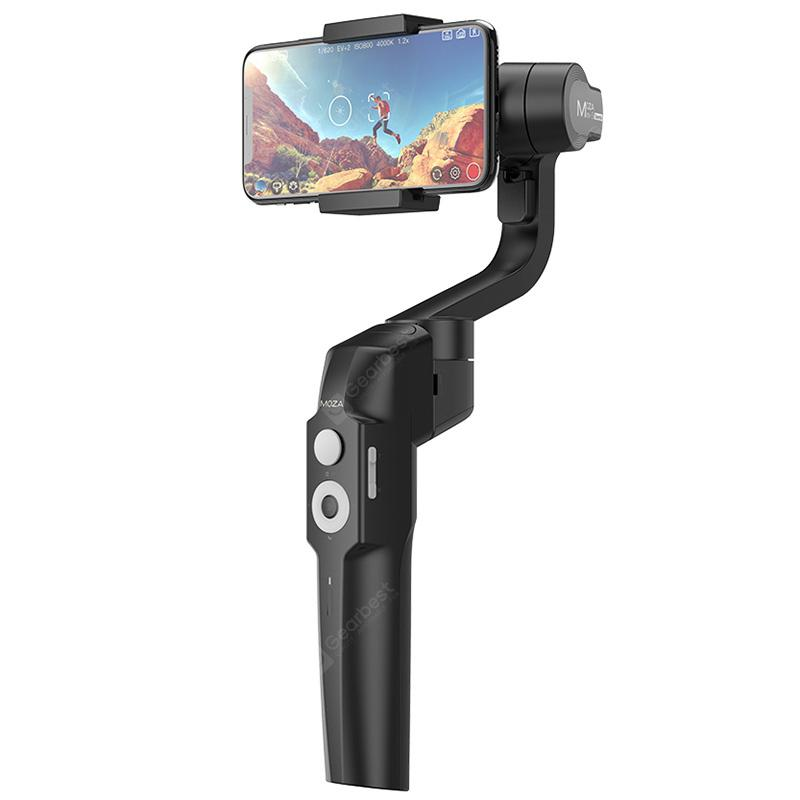 MOZA MINI - S Smart Handheld Gimbal Stabilizer - Black