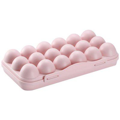 Household Egg Storage Box 18 Grids