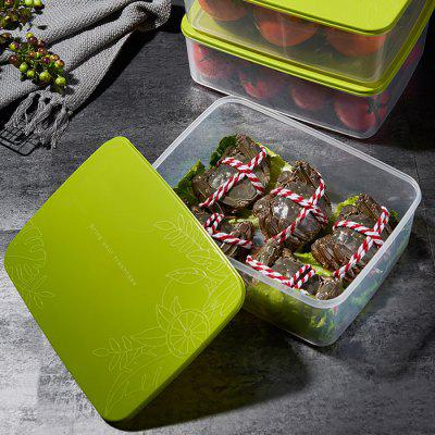 Rectangular Buckle Cover Sealed Storage Box