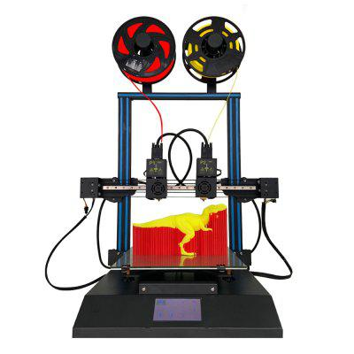 TL - D3 Pro FDM 3D Printer Independent Dual Nozzle