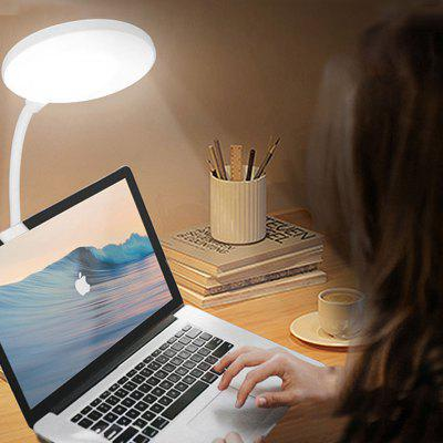 USB Rechargeable LED Table Lamp with Clip - A Great Light Under $10 That Can be Placed at Anywhere Nicely for Bright Light & More Focus!