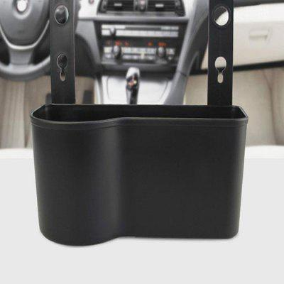 Car Headrest Seat Back Organizer Cup Holder Drink Food Tray