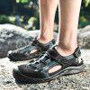 Men Outdoor Breathable Sandals Hollow-out - BLACK