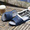 Men Outdoor Beach Slippers Slip-on - BLUE