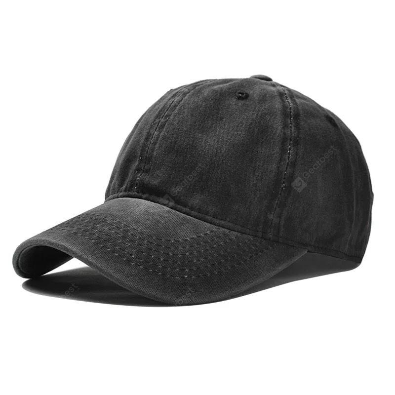 Men Washed Baseball Cap for Daily Use -