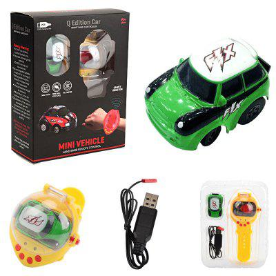 Mini 2.4G Watch Remote Racing Car