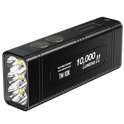 Nitecore TM10K 10000lm Flashlight Rechargeable OLED Display