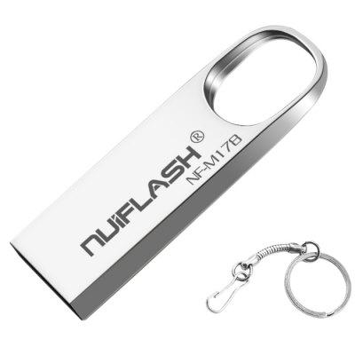 NUIFLASH NF - M178 Metal USB2.0 Flash Drive U Disk Keychain