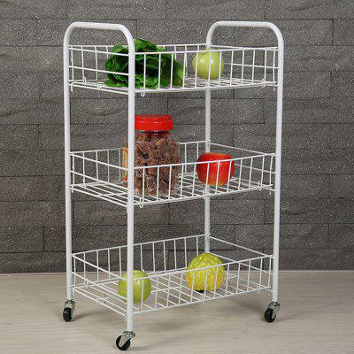 Three-layer Removable Household Storage Rack