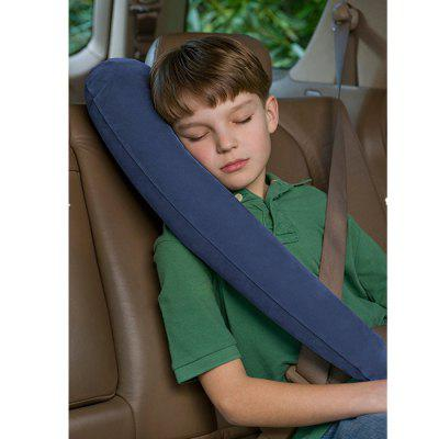 Portable Inflatable L-shaped Neck Pillow