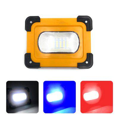 10W Solar LED Portable Floodlight Large Capacity Battery