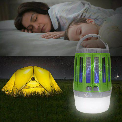2-in-1 Mosquito Lamp Camping Light