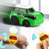 Mini 2.4G Watch Remote Control Racing Car - RUBBER DUCKY YELLOW