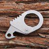 Sanrenmu SK036E Versatile Tool Keychain Bottle Opener Wrench - SILVER