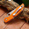 BROTHER 1605 Outdoor Sharp Foldable Knife - ORANGE