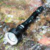 YUPARD Glare Long Range Diving Flashlight - BLACK