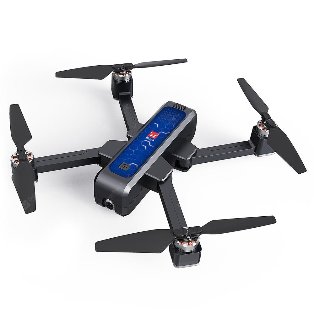 MJX B4W 2K Brushless RC Drone - RTF - Cobalt Blue Single battery color box