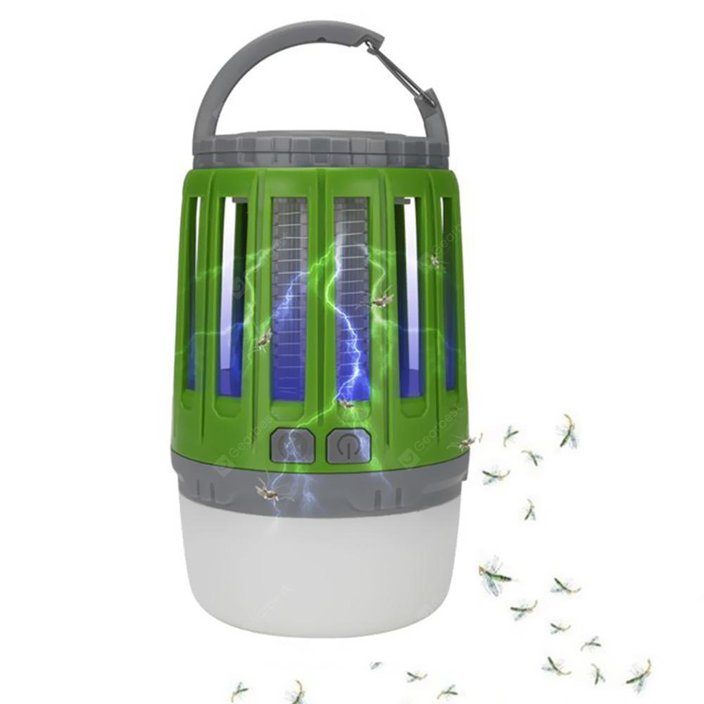 2-in-1 Mosquito Lamp Camping Light - Medium Spring Green