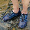 Men's Wearable Breathable Outdoor Climbing Shoes - DEEP BLUE