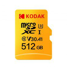 Gearbest Kodak High Speed U3 A1 V30 Micro SD Card TF Card 512G