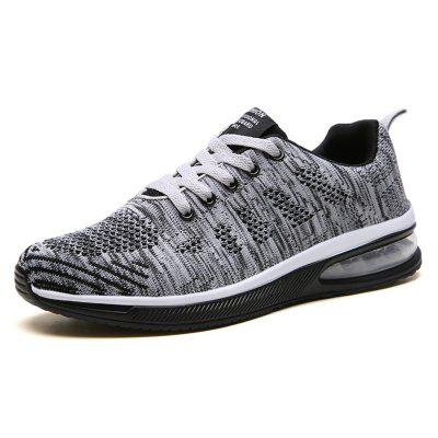 Male Summer Breathable Sports Shoes Woven Fabric