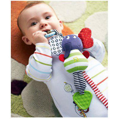Baby Kids Musical Rattle Plush Toy Cute Elephant