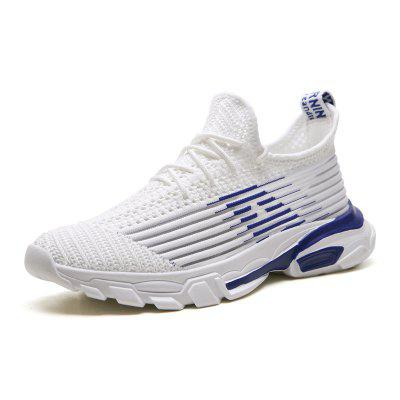 GearBest coupon: Men's Breathable Sports Shoes Woven Fabric