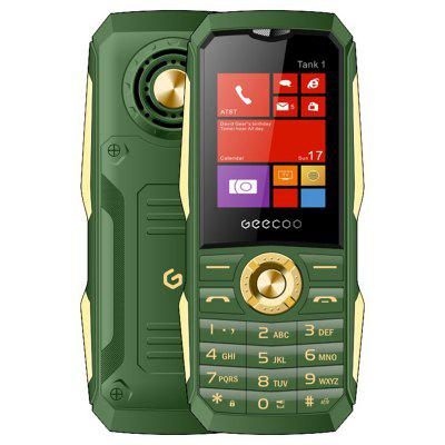 GEECOO Tanque 1 2G Feature Phone 1,8 polegadas 1700mAh Destacável