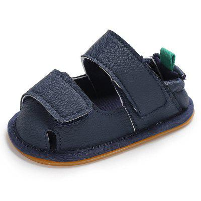 C - 471 Summer 0 - 1 Year Old Boy Baby Sandals Rubber Bottom Non-Slip Toddler Shoes