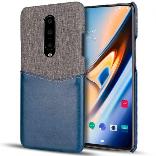 Custodia in pelle per telefono patchwork per One Plus 7 / OnePlus 7 Pro