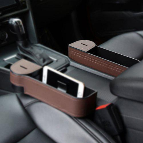 Auto Seat Crevice Storage Box for Phone Key Card Coin Case Accessoies,Car Interior Accessories A Maodaner Universal Car Seat Gap Filler Premium PU Leather Side Pocket Organizer N