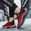 Men's Woven Non-slip Sports Shoes Durable - RED