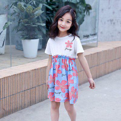 XXNH - 01 Children Flowered Dress
