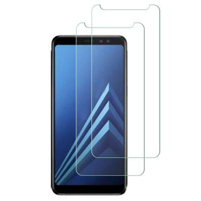 QULLOO Film Full Glass pentru Samsung Galaxy A6 + 2018 2pcs