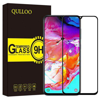 QULLOO Tempered Glass Screen Protector for Samsung Galaxy A70