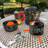 Outdoor Picnic Grill Portable Folding Pot Set - IRIDIUM
