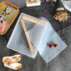 Nougat Mold Set de zahăr Cutting Tool - TRANSPARENT