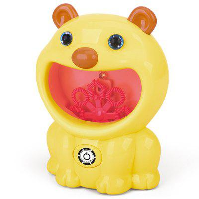 Electric Pig Shaped Bubble Machine Toy