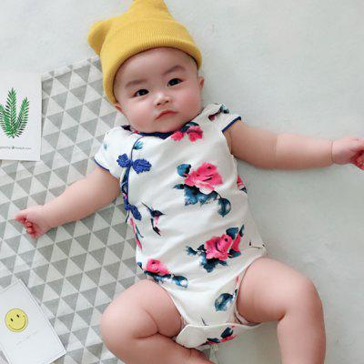 Baby Girls Chinese Style Romper
