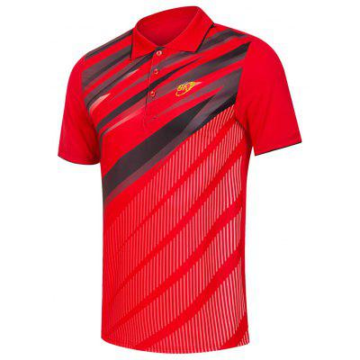 Men's Short-sleeved Badminton Sports T-shirt Quick-drying