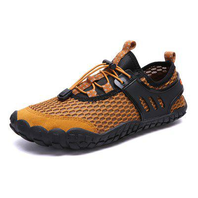 Men's Mesh Fabric Breathable Casual Shoes Durable