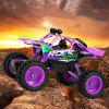 1:12 RC Car 2.4G 4WD Framework Rock Crawler Vehicle - FIOLETOWY
