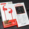 S28 Bluetooth in Ear Sports Magnetic Earphone with TF SD Card Slot - BLACK