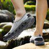 Men's Hollow-out River Tracing Casual Shoes Slip-on - LIGHT GRAY