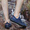 Men's Mesh Fabric Breathable Casual Shoes Durable - BLUE