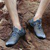 Men's Mesh Fabric Breathable Casual Shoes Durable - GRAY