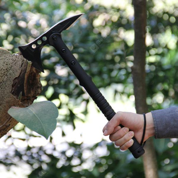 Durable Outdoor Camping Sharp Axe - Black